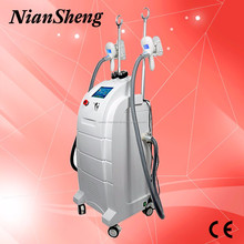 Hot sale!!! 4 in 1 cryolipolysis cavitaiton RF slimming machine/cryotherapy fat removal machine price