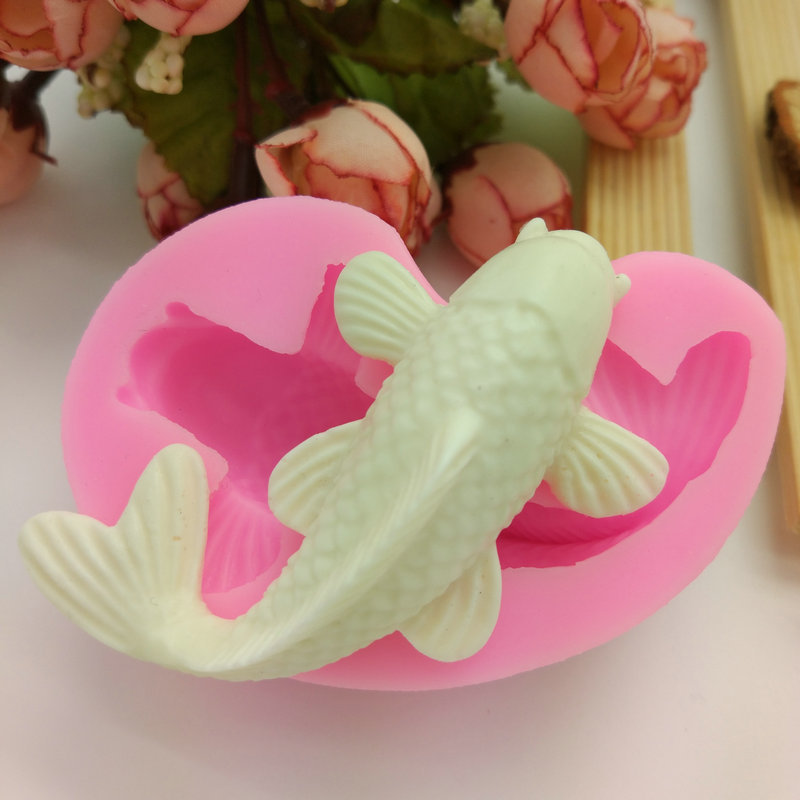 Factory direct sales fish shape food grade silicone baking tools