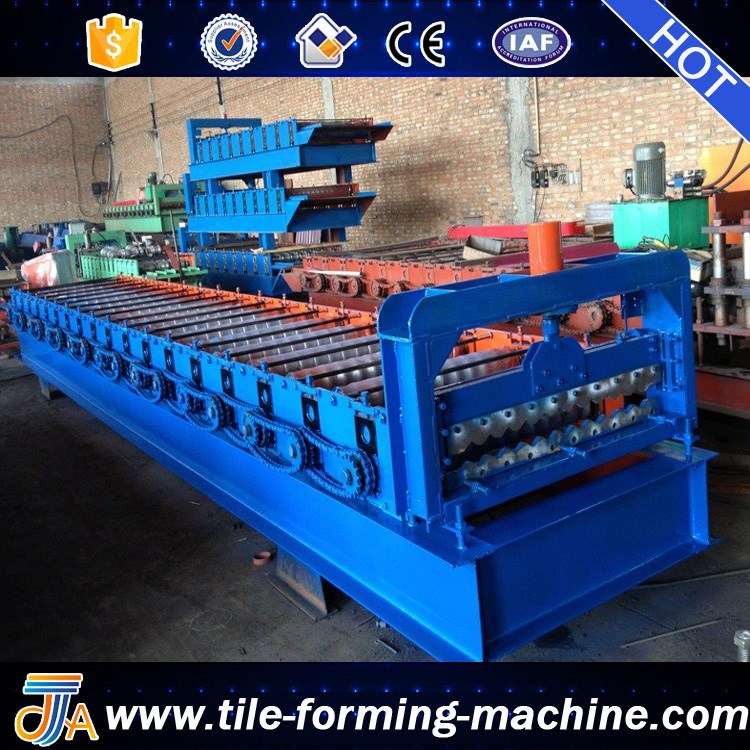 Downspout forming Machine Steel corrugated Pipe Making Machine bello lin
