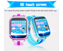 "1.54"" Touch Screen SIM Card GSM Calling Function Wrist Watch GPS Tracking Device Kids GPS Watch Phone for Kids"