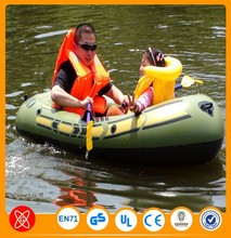 PVC Pontoons 2 person inflatable boat