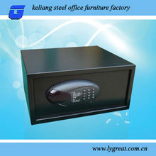 2012 new mechanical coin drop safe with front slot