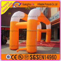 Factory supply cheap new style advertising sales promotion inflatable arch/ archway/ arch door line