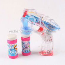 2013 Most popular cute kids toy bubble gun with music and light bubble shooter water gun