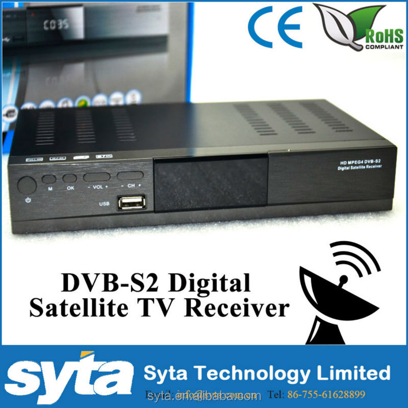 DVB-S2 modulator Satellite mpeg4 Full HD receiver set top box