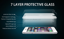 New 9H hardness Anti scratch Anti-bacterial Anti blue light Smart Phone HD Tempered glass screen protector for iphone 6