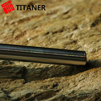 Titanium ball pen with highlighter