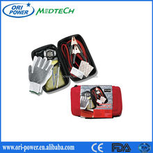 Hot sale ISO FDA CE approved promotional small emergency road assistance bike vehicle first aid kits