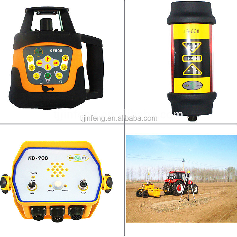 AG808 Laser Land Leveling with Scrape Bucket