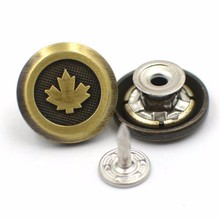 alloy metal trouser buttons for men