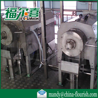 Full automatic industrial orange pulp finisher