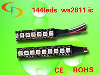 144 leds WS2812B(5050 rgb led with WS2811 IC built-in) led pixel strip