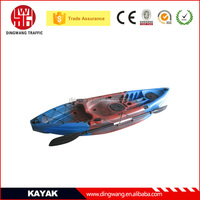 Made in China DINGWANG Rotational Sit on top Plastic Fishing Canoe