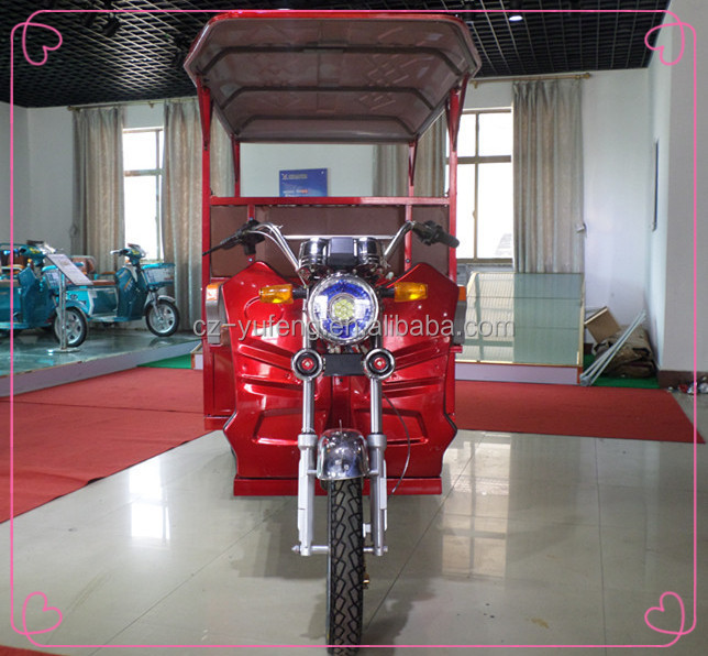 YuFeng three wheel enclosed electric tricycle