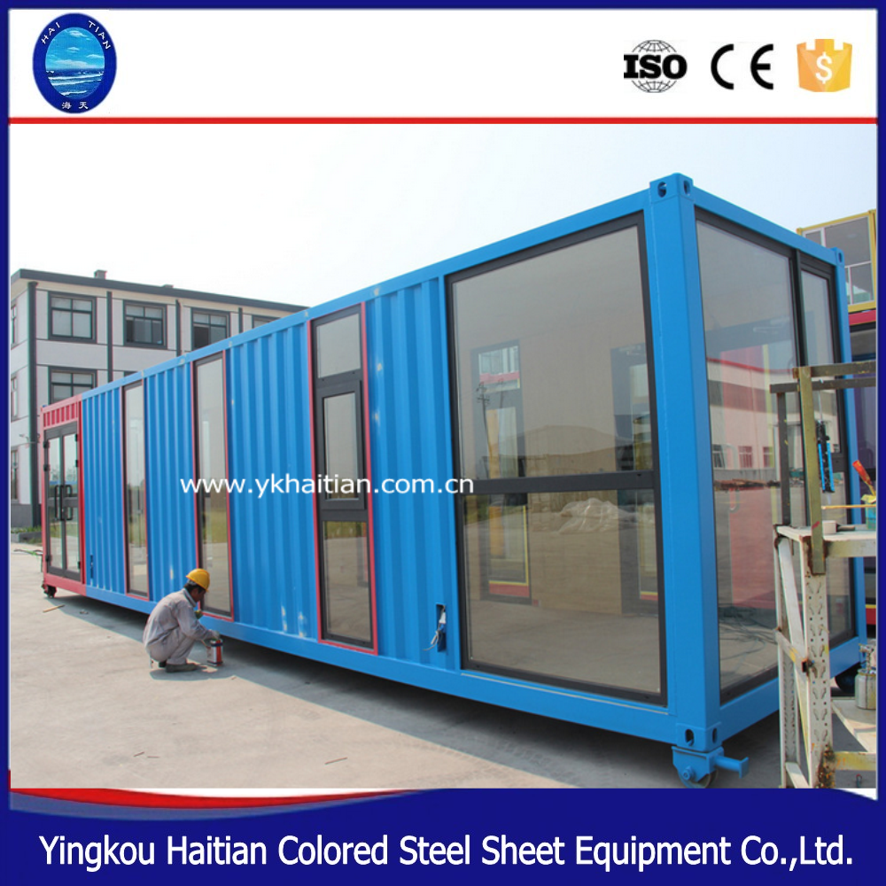 china affordable modern 40ft container home fully furnished container h/prefabricated steel container home for sale