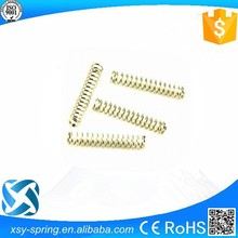 ball pen usage gold color compression spring