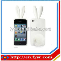 2013 Christmas Gift New Model Cellphone Cute Silicone Case Cover(apple iPhone)