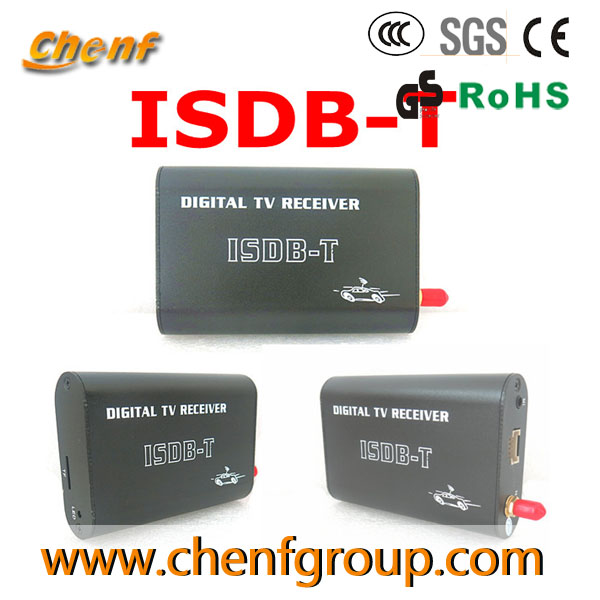Newest ISDB-T Brazil Digital TV receiver tuner,Car HD ISDB-T in Brasil
