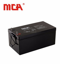 long life lead acid deep cycle agm gel 12v 250ah battery with good price