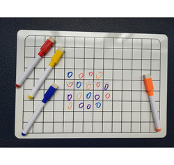 frameless school Kids Learning Lapboard, Lined and Plain whiteboard with Maker