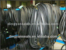 Extruded rubber seal strip gasket for windows