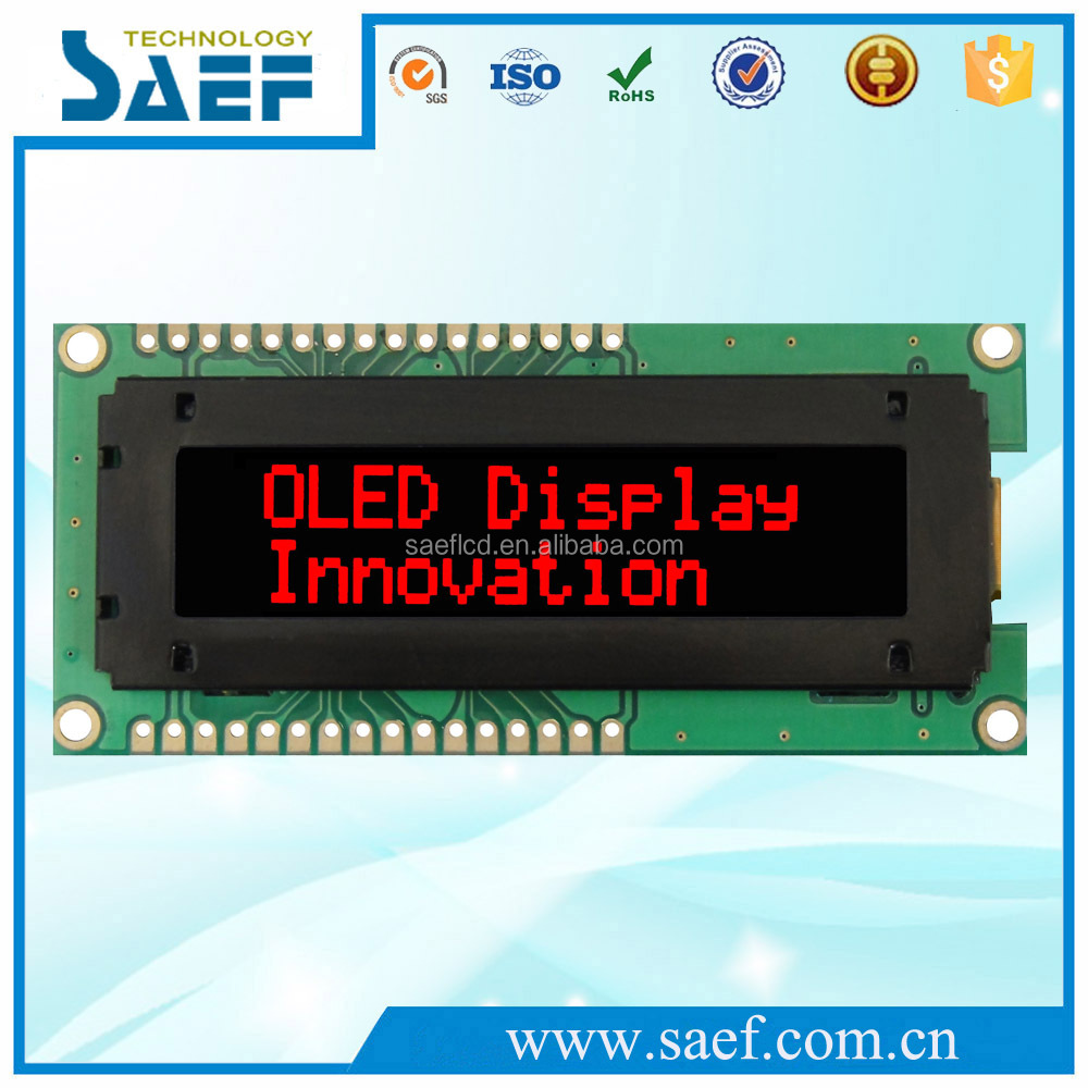 2.26 inch flexible oled displays oled light panel red color