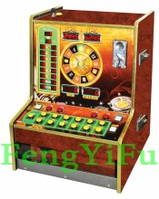 Coin operated roulette game machine FR-03