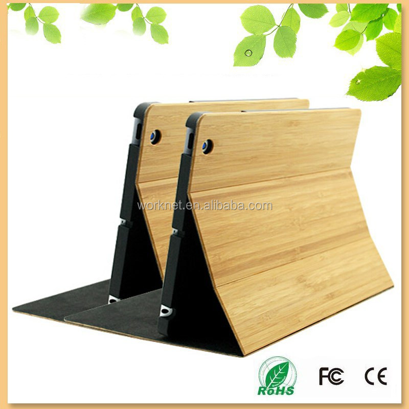 original fresh bamboo tablet cover for ipad mini 2/3 case new product on china market