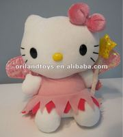 pink cute hello kitty wholesale with Angel Wings