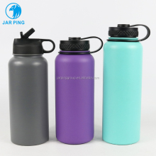 2019 best selling amazon BPA Free Stainless Steel Wide Mouth Sport Water Bottle/ thermos flask/ vacuum flask JP-104A-17