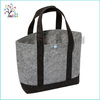 Customized promotional wool felt reusable woven shopping bag