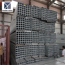 Rectangular Tube Pipe Hollow Metal Pipe ERW rectangular steel pipes for building material