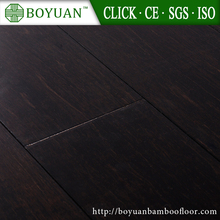 2017 Black Coffee Color Strand Woven Bamboo Flooring for Indoor Usage