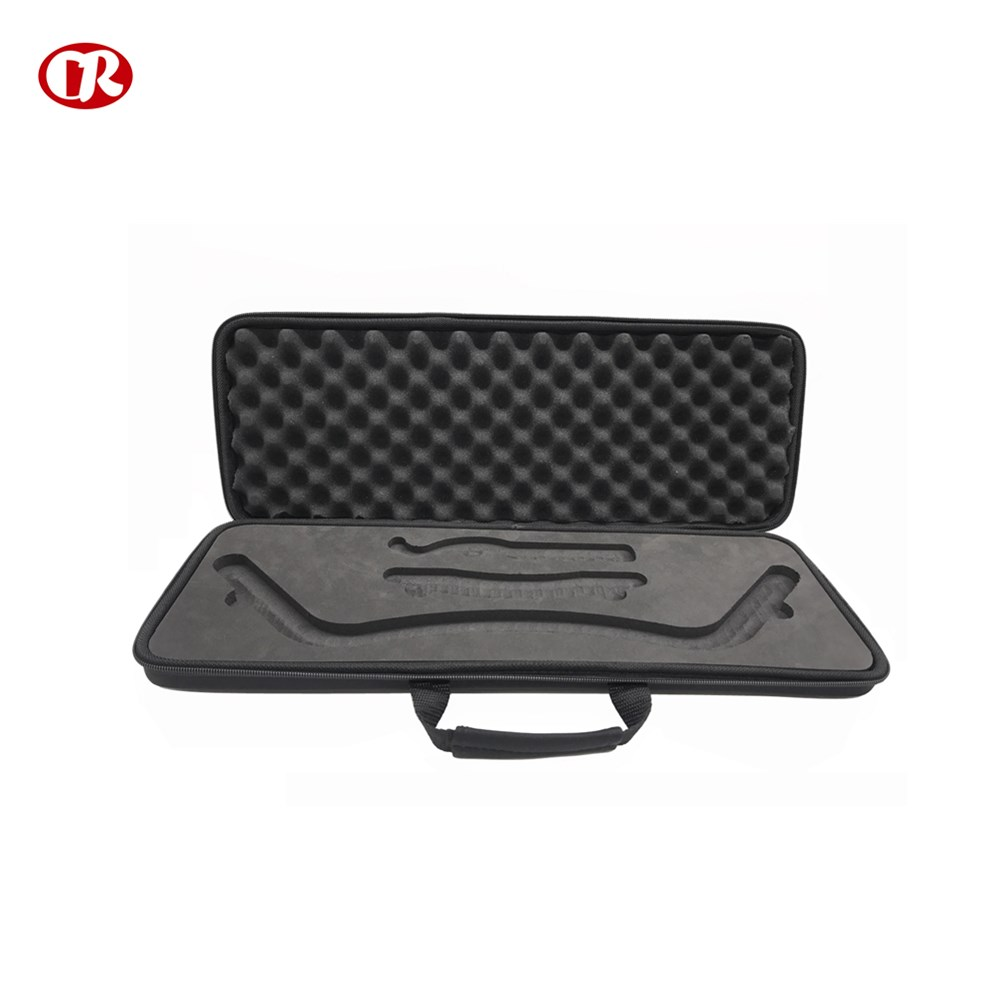 Customized plastic handle eco-friendly durable EVA tool carrying case