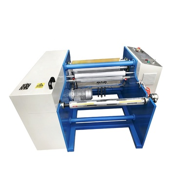 New aluminum foil roll rewinding machine