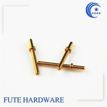 OEM Spring Loaded Gold Plated Brass Pogo Pin for connector