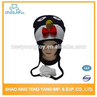 Professional manufacture funny animal baby hat Latest Cartoon winter knitted hat
