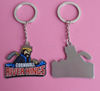 Hockey River Kings Offset Printing Design Metal Keychain