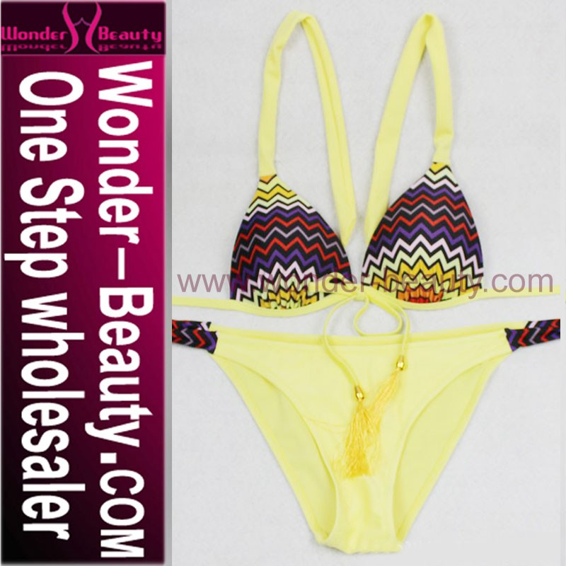 fashion women crochet knitting bikini for lady