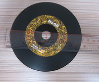 Retro Vinyl Record Round vinyl record frame decoration music vinyl record