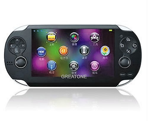 For PS Vita Style PAP Gamepad 2 joysticker handheld game player/handheld game console
