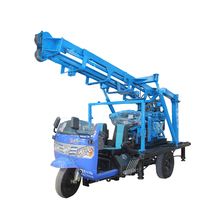 truck-mounted deep depth water well drilling rig