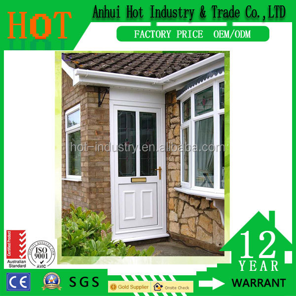 Cheap House Pvc Profile Window For Sale Safety PVC French Door and Window,Pvc Window Made In China