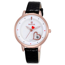 Top Sale Classic Brand Rose Gold Case Candy Color Slim Bracelet Japan Quartz Watch for Girl