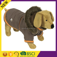 HIgh quality factory cotton arylic winter warm wholesale fashion pet dog coat