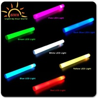 2016 Best Selling Multicolor Foam Led Stick Lighted Up Led Flashing Foam Stick For Event Party/concert/promotion