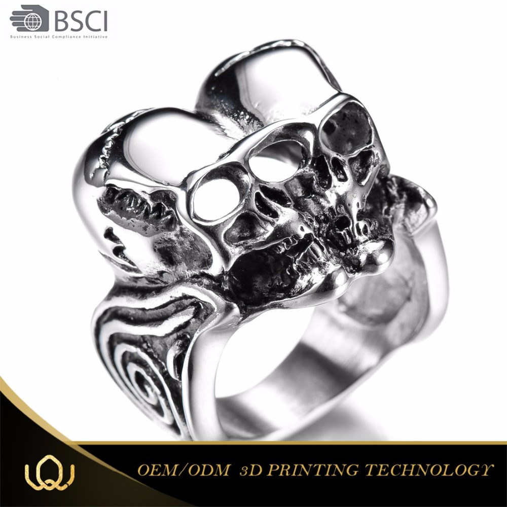 Credible Quality Simple Design Custom-Tailor Italian Style Fashion 361 Steel Arabic Engagement Rings