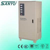 SANYU China wholesale SVC 10KVA electrical type ac 3 phase automatic voltage regulator price