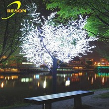 Landscape decoration Artificial coconut tree LED outdoor light