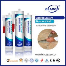 Weather proof acrylic silicon rubber adhesive sealant